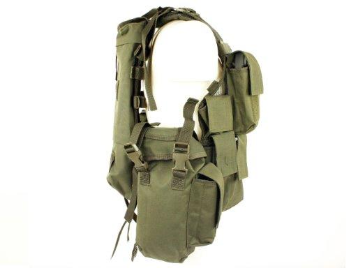 Mil-Tec  2 Mil-Tec Men's Tactical South African Assault Combat Cargo Army Vest Airsoft