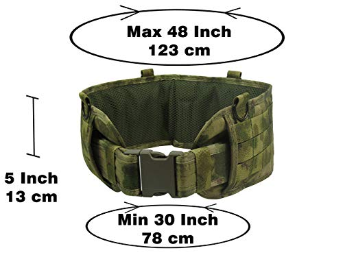 tactic.world  2 tactic.world MOLLE Tactical Modular Belt Chest Rig Vest Airsoft Paintball