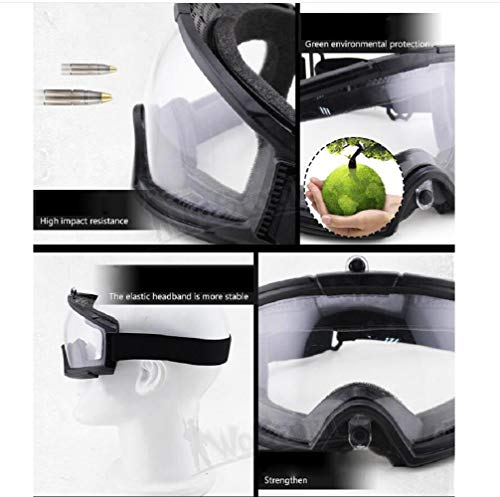 Gocher Airsoft Goggle 3 Tactical Goggle for CS Shooting Riding Cycling Paintball Basic Type Glasses Airsoft Goggles