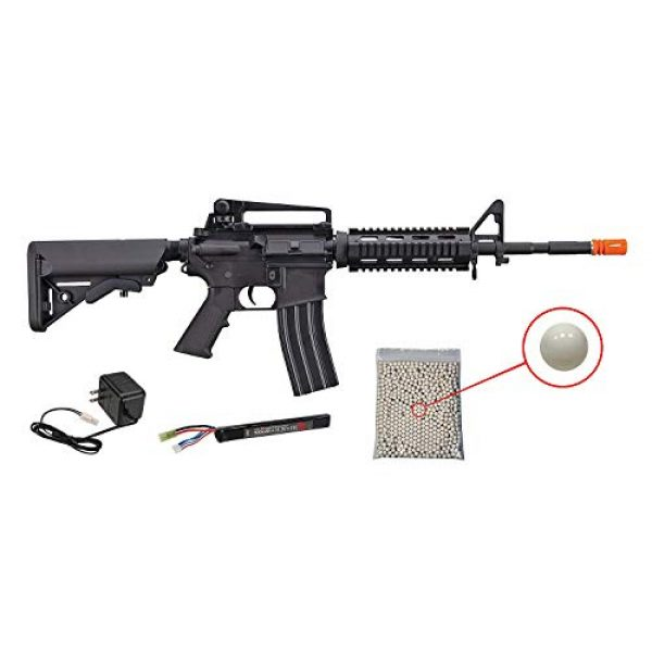 Wearable4U Airsoft Rifle 1 Wearable4U Tippmann Adaptive Armament Airsoft Rifle with Included 11.1V LiPo 900 mAh Battery and Charger Pack of 1000 6mm 0.20g BBS Bundle