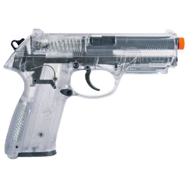 Elite Force Airsoft Pistol 2 Beretta Px4 Storm Spring Airsoft Pistol, Clear