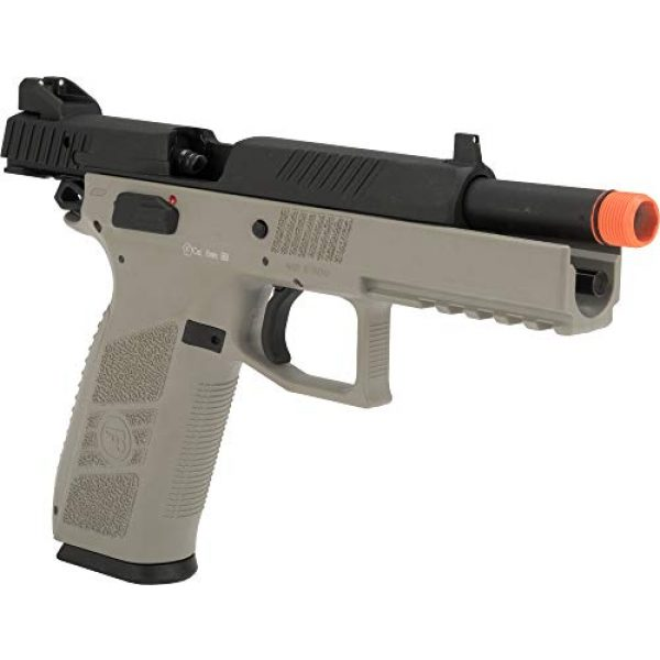 Evike Airsoft Pistol 3 Evike ASG CZ P-09 Licensed Airsoft GBB Gas Blowback Full Metal Airsoft Pistol (Color: Urban Grey)