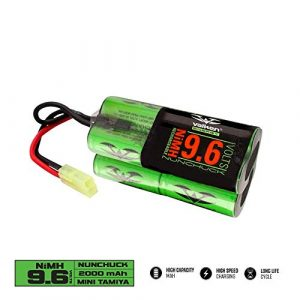 Valken Airsoft Battery 1 Valken Airsoft Battery 9.6v NiMH 2000mAh Nunchuck Style Battery