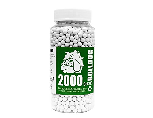 BULLDOG AIRSOFT  1 Bulldog Airsoft Biodegradable BB Pellets (0.30