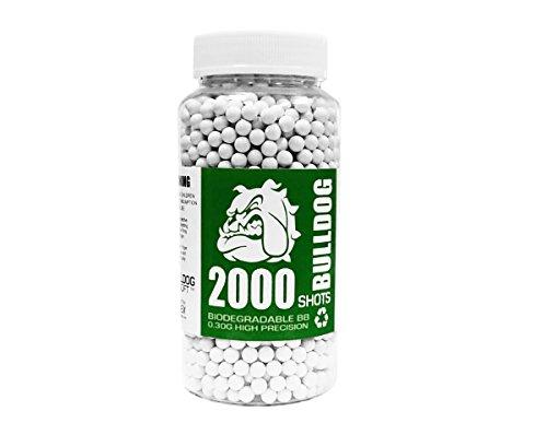 BULLDOG AIRSOFT Airsoft BB 1 Bulldog Airsoft Biodegradable BB Pellets (0.30