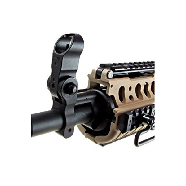 Jing Gong (JG) Airsoft Rifle 7 JG full metal gearbox desert tan aeg w/ integrated rail and high performance tight bore barrel - newest enhanced model by jg(Airsoft Gun)