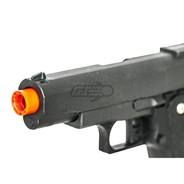 UKARMS Airsoft Pistol 5 UK Arms G10A Mini M1911 Hi Capa 4.3 Metal Spring Airsoft Pistol – Metal Spring Airsoft Gun for Beginners (Black)