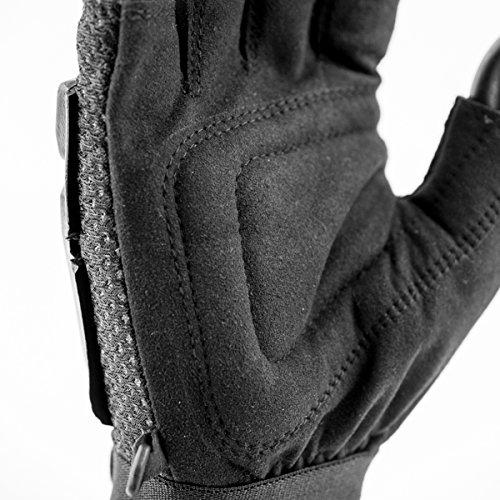 Valken Airsoft Glove 4 Valken V-TAC Half Finger Plastic Back Airsoft Gloves