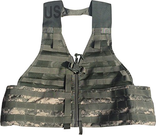 SDS Airsoft Tactical Vest 1 SDS Official US Military MOLLE II Army ACU FLC Fighting Tactical Assault Vest Carrier