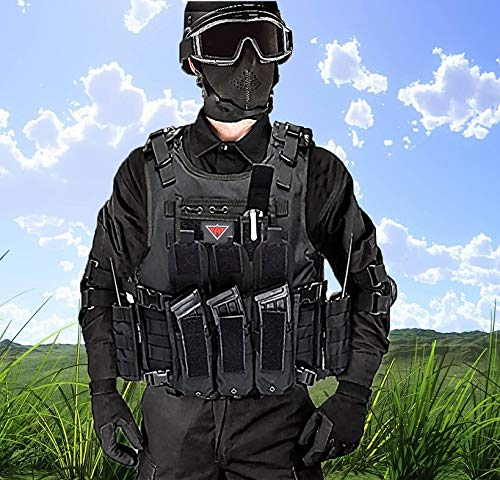 vAv YAKEDA Airsoft Tactical Vest 7 vAv YAKEDA Tactical Vest Military Chest Rig Airsoft Swat Vest for Men