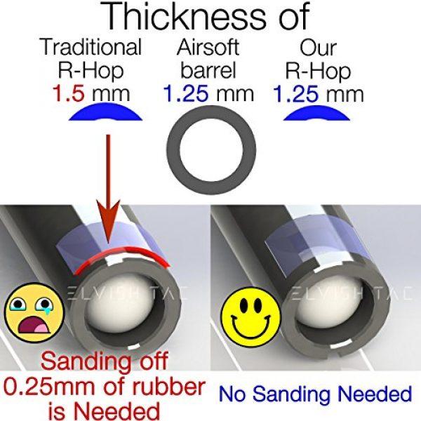 Elvish Tac Airsoft Barrel 4 Elvish Tac RHOP + Modify Hybrid 6.03mm Tightbore Barrel + Flat-Hop Bucking S-Nub AEG R-Hop