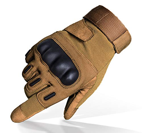 TitanOps Gear Airsoft Glove 1 TitanOPS Full Finger Hard Knuckle Motorcycle Military Tactical Combat Training Army Shooting Outdoor Gloves