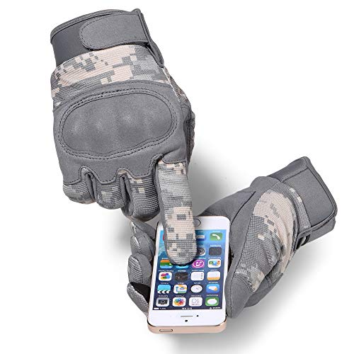 WTACTFUL Airsoft Glove 5 WTACTFUL Touchscreen Tactical Gloves for Airsoft Paintball Motorbike Work