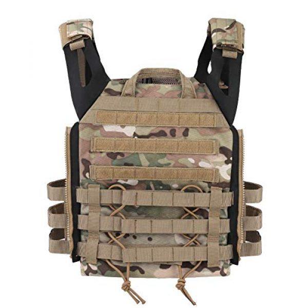 Tactical Area Airsoft Tactical Vest 4 Tactical JPC MOLLE Vest, Adult Tactical CS Field Vest Outdoor Training Airsoft Protective Vest