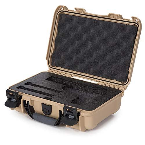 Nanuk Airsoft Gun Case 3 Nanuk 909 Pistol Case W/Foam (Tan)