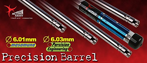 AAC Airsoft Barrel 1 Action Army Spring Precision Airsoft Inner Barrel 6.01mm 430mm - VSR10 Made in Taiwan