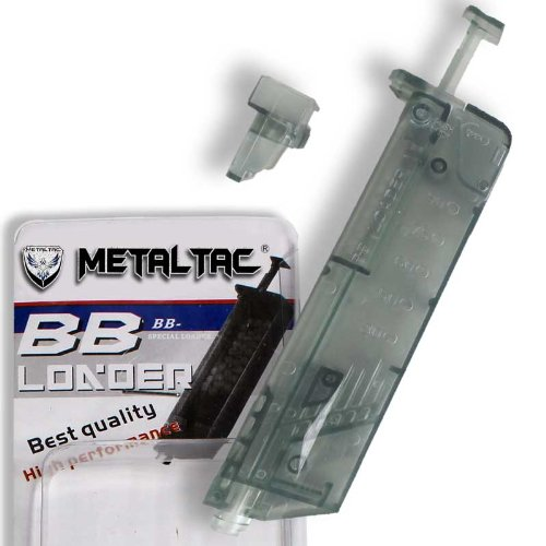 MetalTac  1 MetalTac Airsoft Speed Loader with Capacity of 100 Bbs