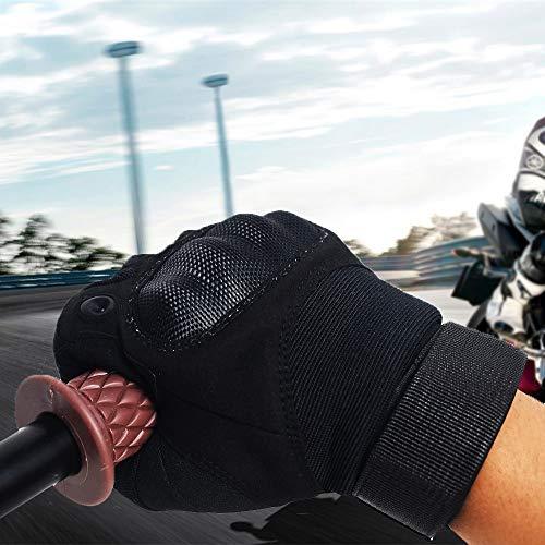 DKMOTORK Airsoft Glove 5 DKMOTORK 007 Airsoft Work Motorcycle Full Finger Gloves for Men Women Hunting Fishing Ski Winter Outdoor Sport Medium