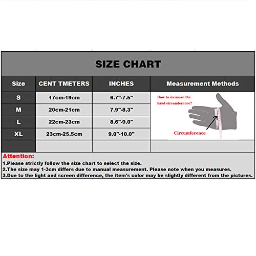 YUNLONG Airsoft Glove 7 YUNLONG Tactical Gloves Touch Screen Motorcycle Full Finger Cycling Motorbike ATV Hunting Hiking Riding Climbing Operating Work Sports Gloves
