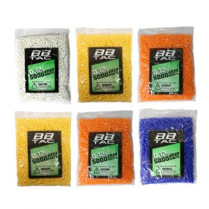 BBTac Airsoft BB 1 BBTac Airsoft BB 30,000 Round 0.12g 6mm BBS for Airsoft Guns Ammo Pallet (5000 x6 Bag)