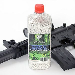 MetalTac Airsoft BB 1 MetalTac Airsoft BBS 6mm for Airsoft Guns Perfect Grade Percision Accurate Premium BB Pellets (.12g .20g .25g .30g Bio-Degradable)