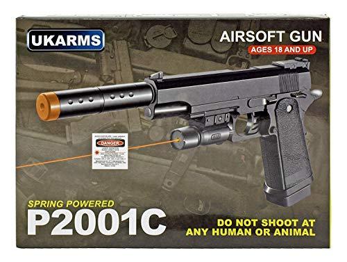 Maistruker Airsoft Pistol 3 Maistruker UKArms Spring Powered Airsoft Handgun P2001C