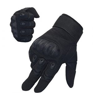 Nachvorn Airsoft Glove 1 Nachvorn Men's Tactical Military Outdoor Gloves for Camping Cycling Motorcycle Hiking Powersports Airsoft Paintballg