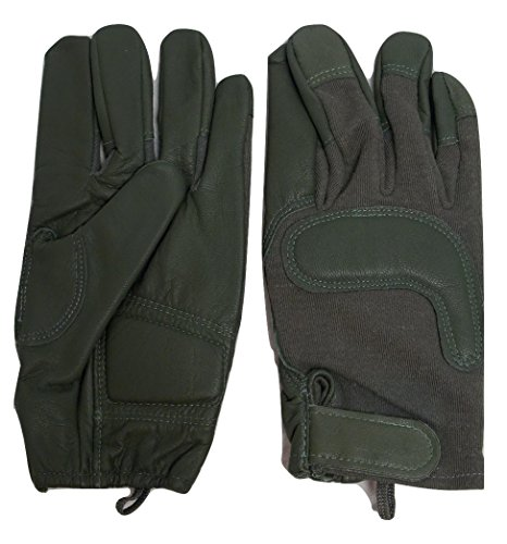 HWI Airsoft Glove 1 USGI ARMY COMBAT GLOVES TACTICAL SHOOTERS GLOVES (Large)