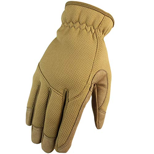HONGYI Airsoft Glove 1 Breathable Lightweight Outdoor Full Finger Gloves for Work Tactical Paintball Cycling Bicycle Motorcycle Hunting Hiking Shooting