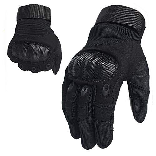 DKMOTORK Airsoft Glove 1 DKMOTORK 007 Airsoft Work Motorcycle Full Finger Gloves for Men Women Hunting Fishing Ski Winter Outdoor Sport Medium