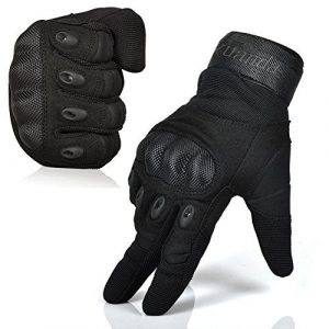 Fuyuanda Airsoft Glove 1 Fuyuanda Tactical Gloves Men`s Outdoor Full Finger Hard Knuckle Motorcycle Glove for Military Army Sporting Shooting Paintball Hunting Driving Riding Cycling Airsoft