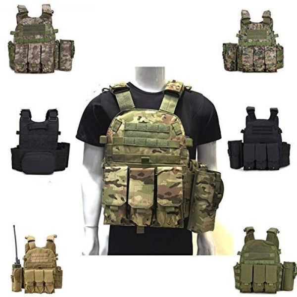 Shefure Airsoft Tactical Vest 2 Shefure Outdoor Hunting Vests Tactical Vest Military Men Clothes Army CS Equipment Accessories Airsoft Body Armor Painball Vest