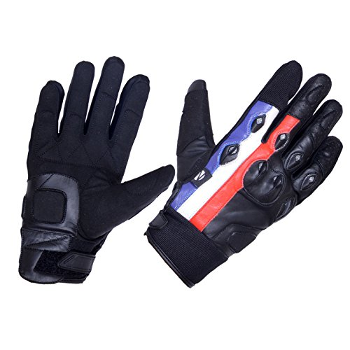 Zimco Cycle wear Airsoft Glove 1 Zimco Cycle wear Durable Motorbike Motorcycle Gloves Leather Knuckle Protection Road/Off Road