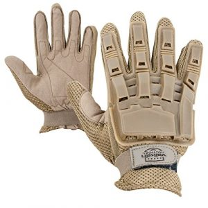 Valken Airsoft Glove 1 Valken Full Finger Plastic Back Gloves