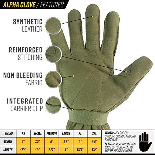Valken Airsoft Glove 3 Valken Alpha Full Finger Gloves