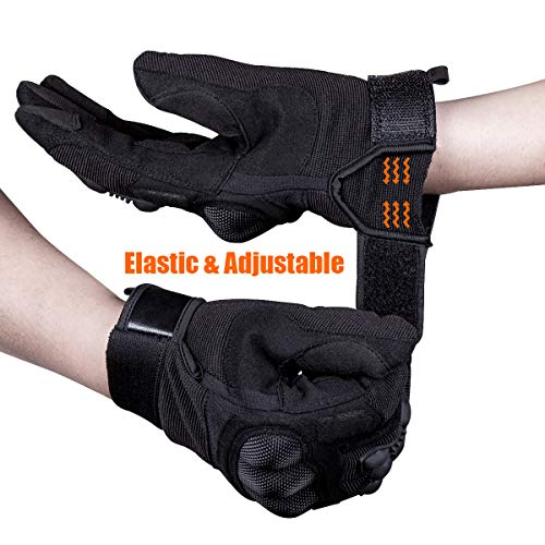 FREE SOLDIER Airsoft Glove 4 FREE SOLDIER Tactical Gloves Full Finger Men's Gloves Touch Screen Outdoor Gloves for Motorcycle Riding Gloves