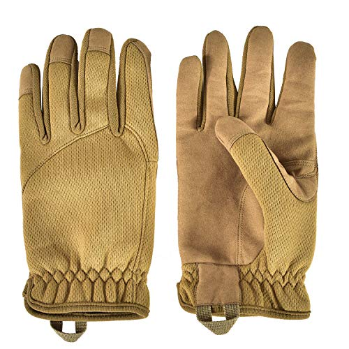 HONGYI Airsoft Glove 5 Breathable Lightweight Outdoor Full Finger Gloves for Work Tactical Paintball Cycling Bicycle Motorcycle Hunting Hiking Shooting