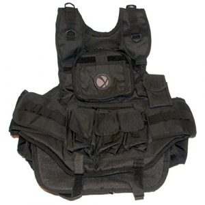 GXG Airsoft Tactical Vest 1 GxG Army Swat Paintball Airsoft Tactical Vest Black