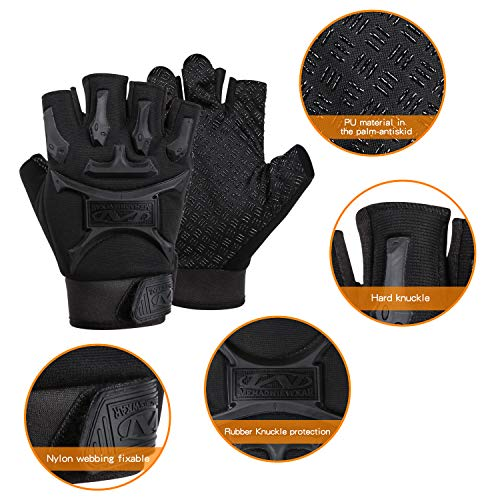 ACVCY Airsoft Glove 2 ACVCY Cycling Fingerless Gloves