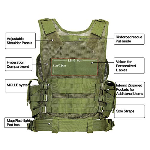 GZ XINXING Airsoft Tactical Vest 5 GZ XINXING S - 4XL Law Enforcement Tactical Airsoft Paintball Vest