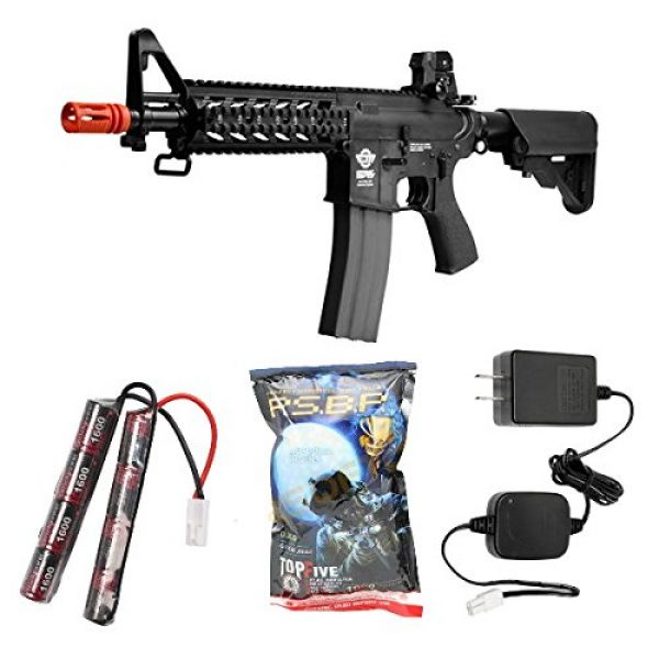 G&G Airsoft Rifle 1 G&G combat machine 16 raider battery & charger combo(Airsoft Gun)