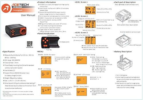 ACETECH Airsoft Tool 4 ACETECH AC5000 Airsoft Gun Speed Tester BBS Chronograph