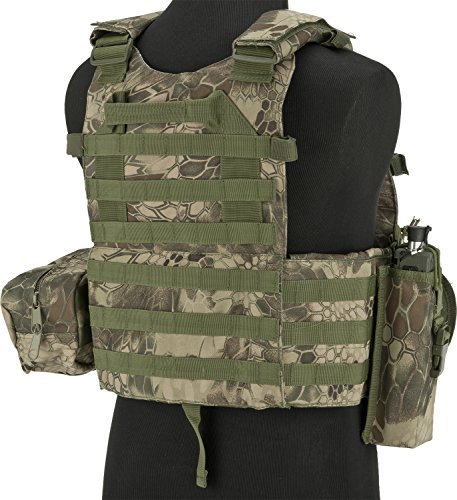 Evike Airsoft Tactical Vest 2 Evike - Avengers Airsoft Tactical Vest 6D9T4A w/Magazine & Radio Pouches