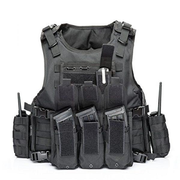vAv YAKEDA Airsoft Tactical Vest 1 vAv YAKEDA Tactical Vest Military Chest Rig Airsoft Swat Vest for Men