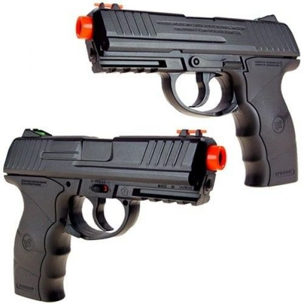 Wingun Airsoft Pistol 2 wingun w3000 full metal co2 airsoft pistol, extra clip, 5 co2 cartridges, 1,200 bb's(Airsoft Gun)