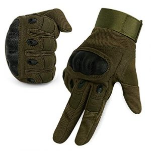 IronSeals Airsoft Glove 1 IronSeals Gloves Rubber Hard Knuckle Outdoor Gloves Full Finger and Half Finger Cycling Motorcycle Gloves