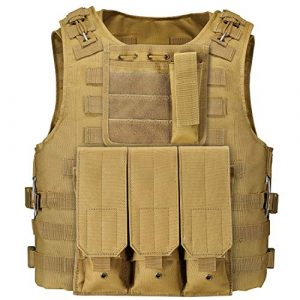 GZ XINXING Airsoft Tactical Vest 1 GZ XINXING 100% Full Refund Assurance Tactical Airsoft Vest