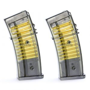 BBTac Airsoft Gun Magazine 1 BBTac Airsoft M85 Magazine for Double Eagle M85 Airsoft Gun Magazine, Two Pack Warranty