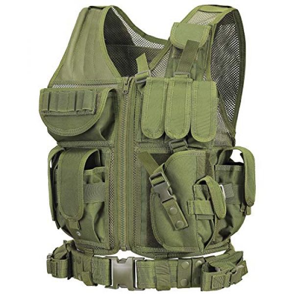 GZ XINXING Airsoft Tactical Vest 1 GZ XINXING S - 4XL Law Enforcement Tactical Airsoft Paintball Vest