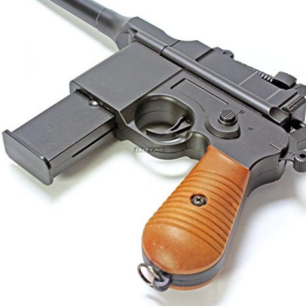 BBTac Airsoft Pistol 7 BBTac BT-712 World War II 165 FPS C96 Metal Zinc Alloy Airsoft Pistol with Magazine